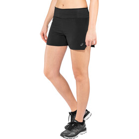 "asics 3,5"" Shorts Kobiety, performance black"
